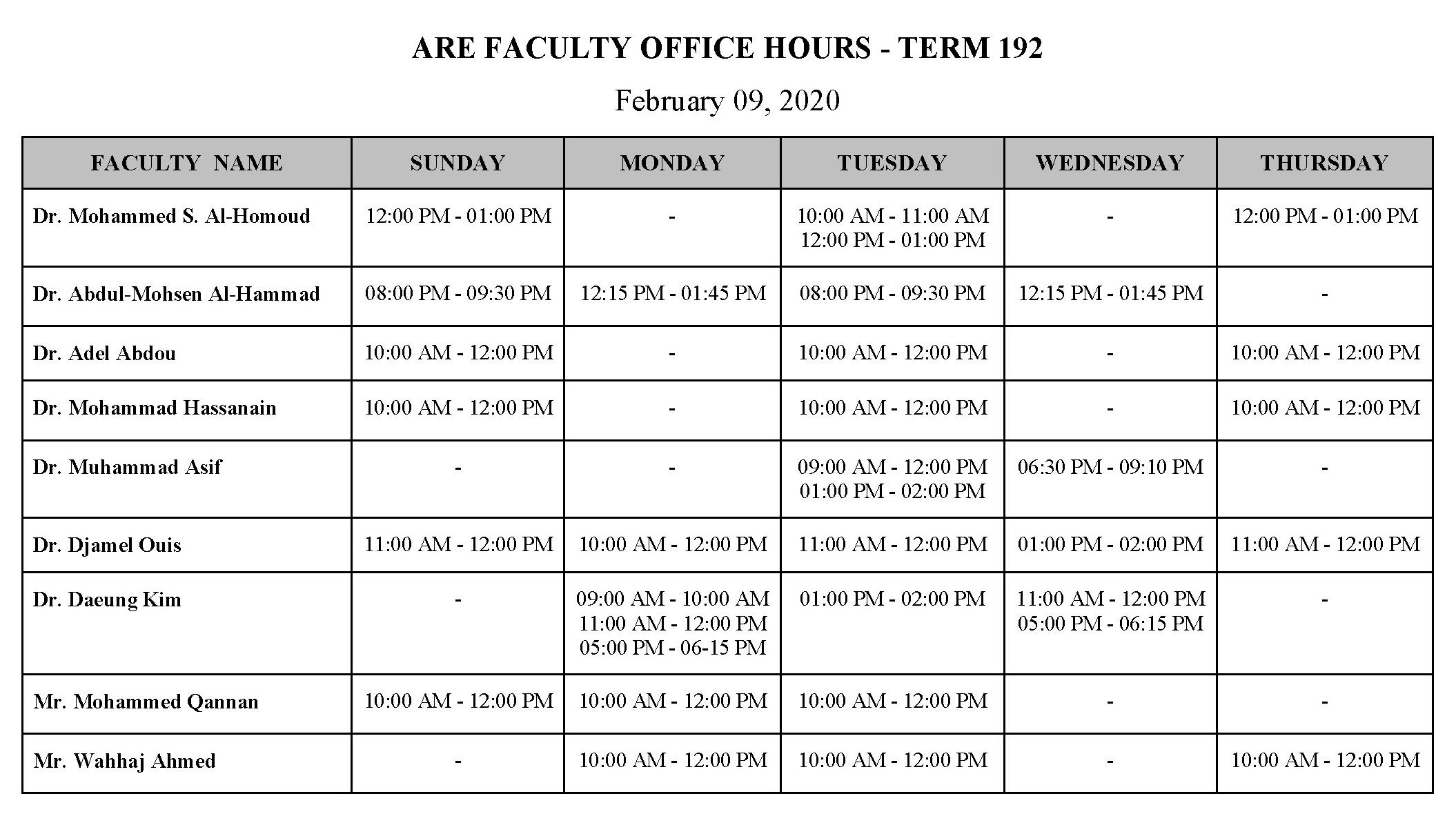 ARE FACULTY OFFICE HOURS.jpg