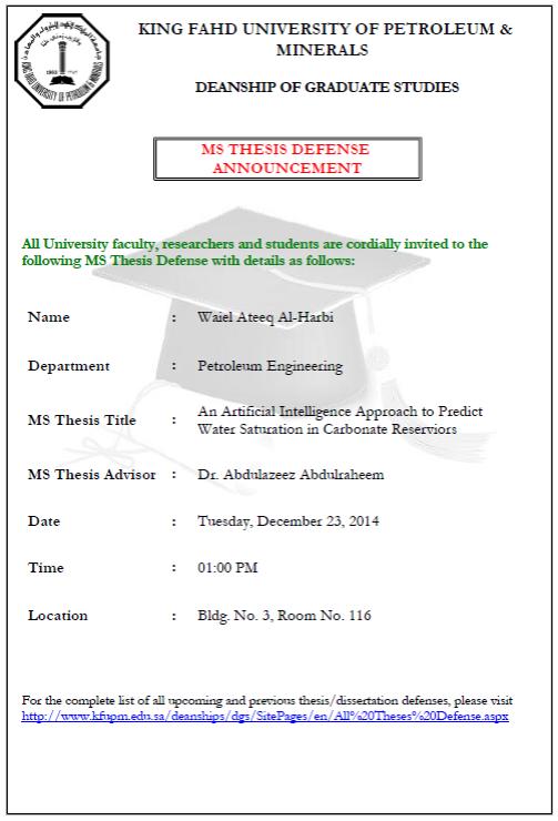 events management dissertation proposal
