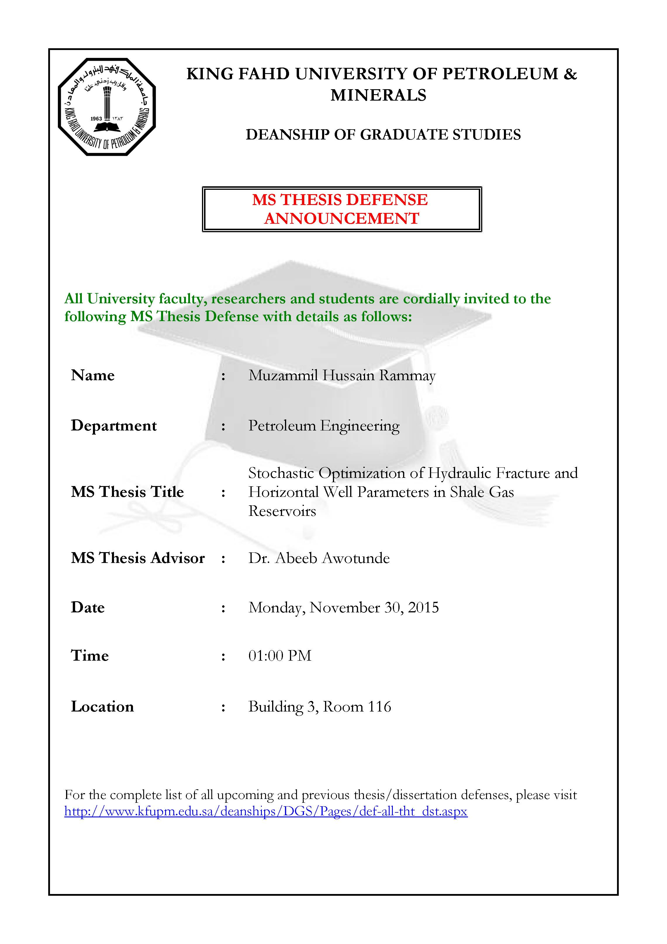 horizontal drilling thesis